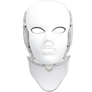 """alt=""""Dit lichttherapie led masker is gemaakt dat u thuis een lichttherapie behandeling kan ondergaan - het masker heeft zeven kleuren en golflengtes - werkt op netstroom via usb aansluiting"""""""