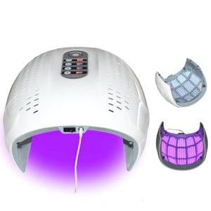 Dit is een lichttherapie led apparaat die voor zowel het gezicht als het lichaam kan worden gebruikt.