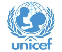 Dit is een foto met het logo van Unicef