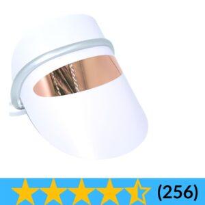 """alt=""""Dit is een lichttherapie photon masker met led lampjes - het lichttherapie masker heeft 76 lampjes en 3 kleuren rood - groen - blauw - het masker is licht en heeft een massage functie"""""""