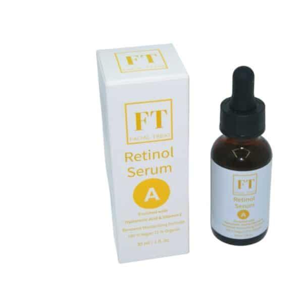 Retinol serum - hyaluronzuur serum - jojoba olie