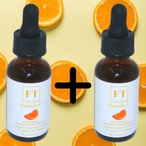 Dit is een flesje Vitamine c serum 30 ml. Het serum vitamine c is een gezichtsverzorgingsproduct en zit een bruin glazen flesje.