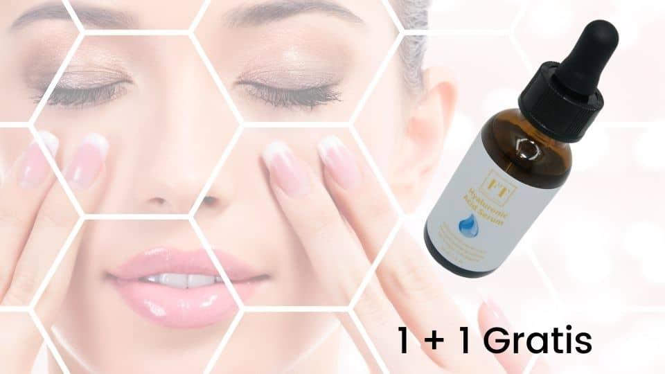 Een flesje hyaluronzuur serum 30 ml
